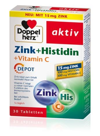 Doppelherz Zink + Histidin