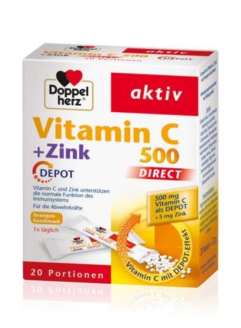 Doppelherz Vitamin C 500 DIRECT