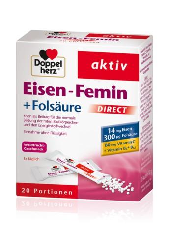 Doppelherz Eisen-Femin DIRECT