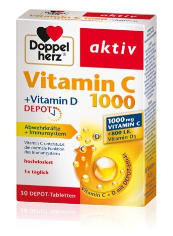 Doppelherz Vitamin C 1000